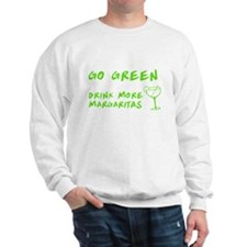 Go Green Margarita Sweatshirt
