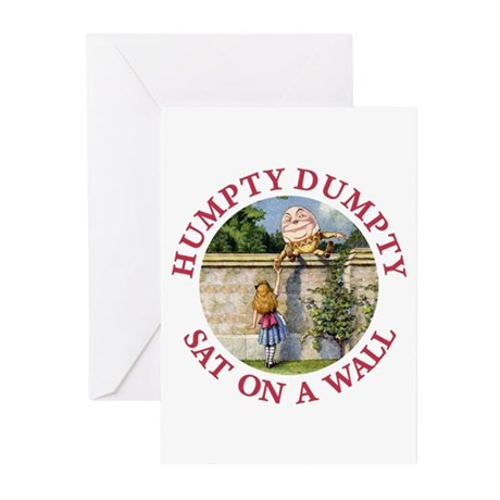 Humpty Dumpty Greeting Cards (Pk of 10)