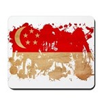 Singapore Flag Mousepad