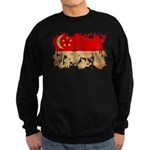 Singapore Flag Sweatshirt (dark)
