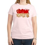 Singapore Flag Women's Light T-Shirt