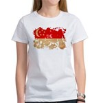 Singapore Flag Women's T-Shirt