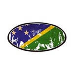 Solomon Islands Flag Patches