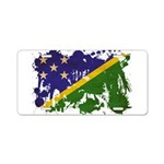 Solomon Islands Flag Aluminum License Plate