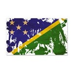 Solomon Islands Flag 22x14 Wall Peel