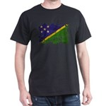 Solomon Islands Flag Dark T-Shirt