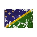 Solomon Islands Flag Rectangle Magnet (10 pack)