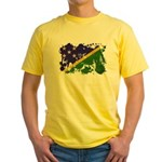 Solomon Islands Flag Yellow T-Shirt