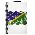 Solomon Islands Flag Journal