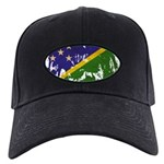 Solomon Islands Flag Black Cap