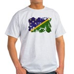 Solomon Islands Flag Light T-Shirt