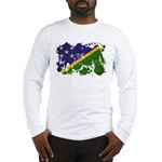 Solomon Islands Flag Long Sleeve T-Shirt