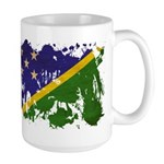 Solomon Islands Flag Large Mug
