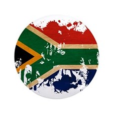 "South Africa Flag 3.5"" Button (100 pack)"