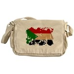 Sudan Flag Messenger Bag