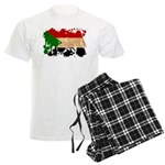 Sudan Flag Men's Light Pajamas