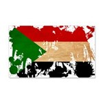 Sudan Flag 22x14 Wall Peel