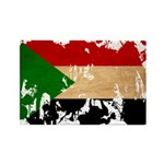 Sudan Flag Rectangle Magnet (100 pack)