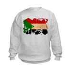 Sudan Flag Kids Sweatshirt