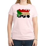 Sudan Flag Women's Light T-Shirt