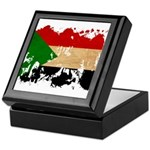 Sudan Flag Keepsake Box