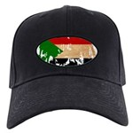Sudan Flag Black Cap