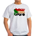Sudan Flag Light T-Shirt