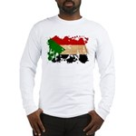 Sudan Flag Long Sleeve T-Shirt