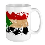 Sudan Flag Large Mug