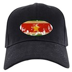 Suriname Flag Black Cap