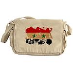 Syria Flag Messenger Bag