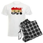 Syria Flag Men's Light Pajamas