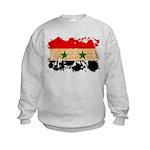 Syria Flag Kids Sweatshirt
