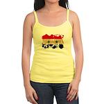 Syria Flag Jr. Spaghetti Tank