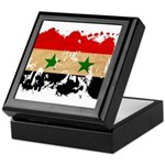 Syria Flag Keepsake Box
