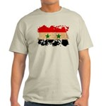 Syria Flag Light T-Shirt