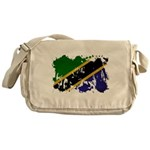 Tanzania Flag Messenger Bag