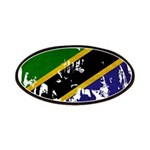 Tanzania Flag Patches