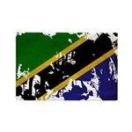 Tanzania Flag Rectangle Magnet