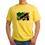 Tanzania Flag Yellow T-Shirt