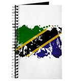 Tanzania Flag Journal