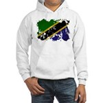 Tanzania Flag Hooded Sweatshirt