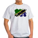 Tanzania Flag Light T-Shirt
