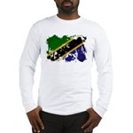 Tanzania Flag Long Sleeve T-Shirt