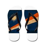 Marshall Islands Flag Flip Flops
