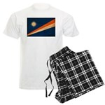Marshall Islands Flag Men's Light Pajamas