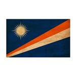 Marshall Islands Flag 38.5 x 24.5 Wall Peel