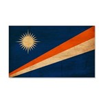 Marshall Islands Flag 22x14 Wall Peel