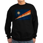 Marshall Islands Flag Sweatshirt (dark)