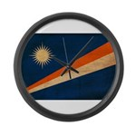 Marshall Islands Flag Large Wall Clock